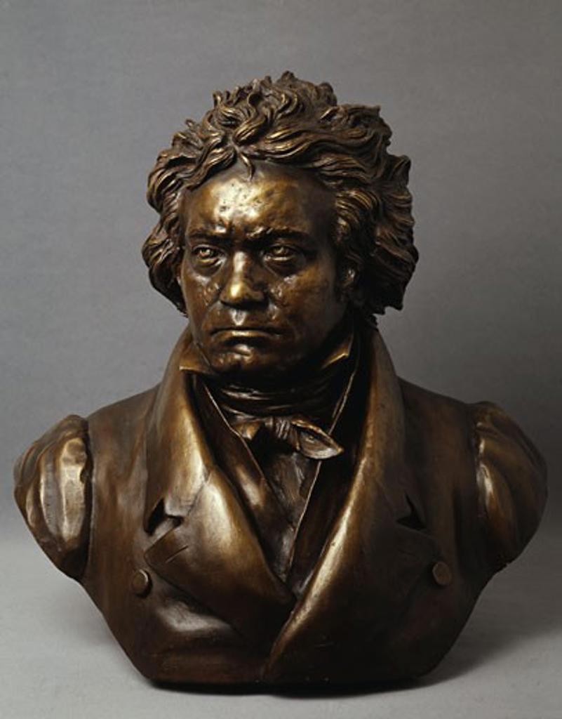 Stock Photo: 463-4125 Ludwig van Beethoven Bust Gustav Landgrebe (1837-1899