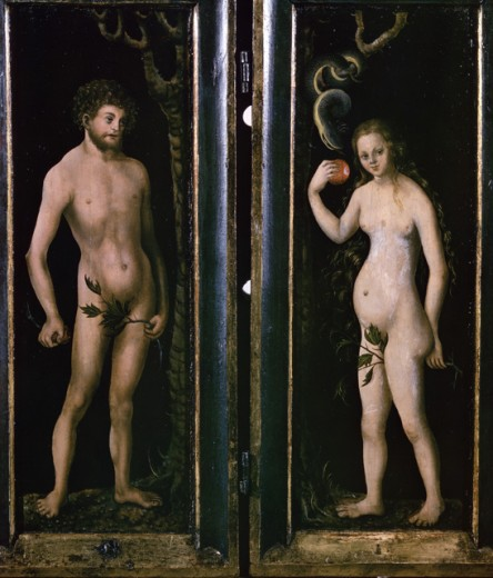 Stock Photo: 463-4154 Adam and Eve