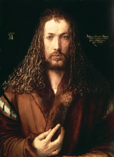 Stock Photo: 463-4189 Self Portrait