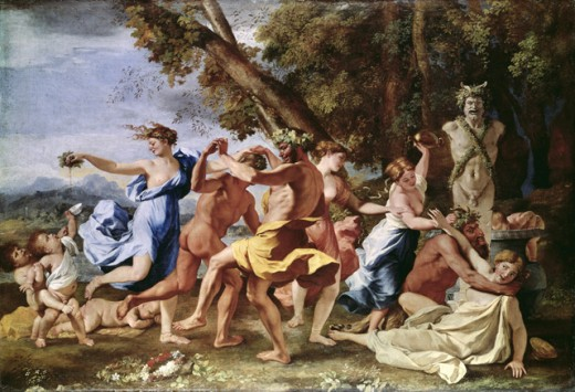 Bacchanlian Revel Before a Term of Pan