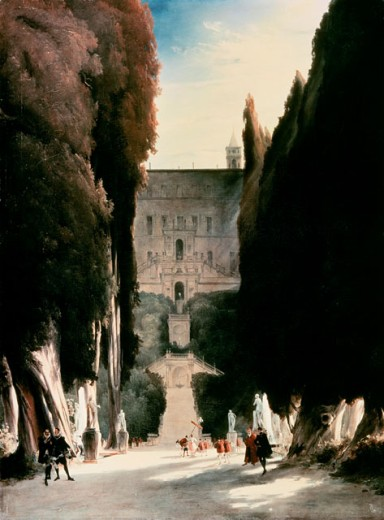 Stock Photo: 463-4291 Villa d'Este in Tivoli
