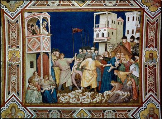 Stock Photo: 463-4540 Infanticide of Bethlehem 