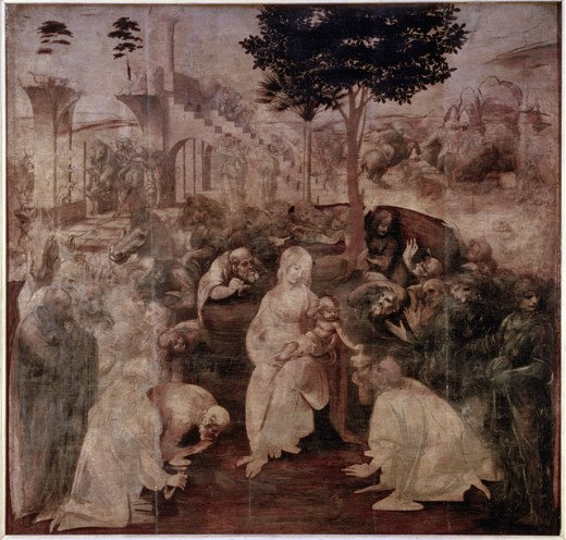 Stock Photo: 463-4700 The Worshipping of the Kings
