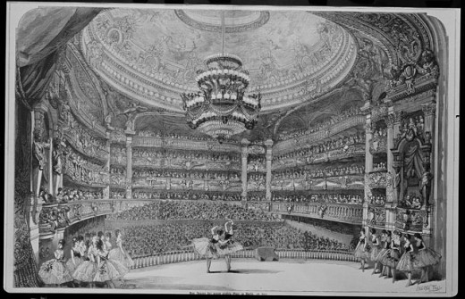 Paris Opera, Inside View 