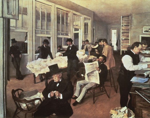 Stock Photo: 463-4776 Cotton Exchange, New Orleans