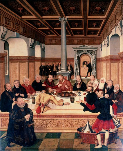 Stock Photo: 463-4869 The Last Supper
