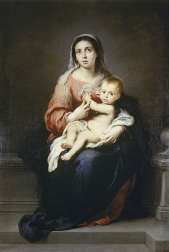 Stock Photo: 463-5011 Madonna and Child 