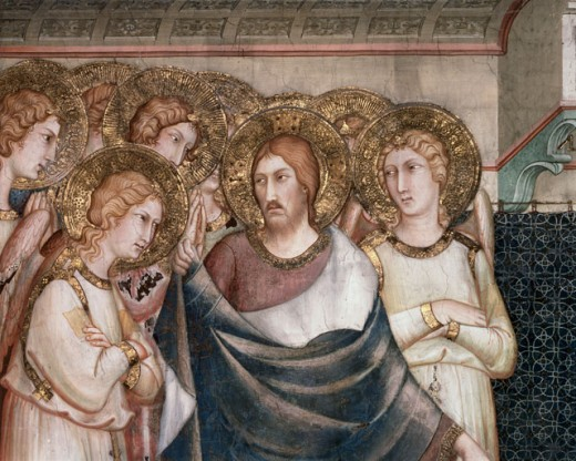 Stock Photo: 463-5308 Christ with Angels