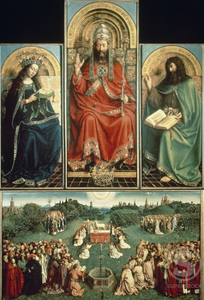 Stock Photo: 463-5322 The Ghent Altarpiece