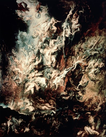 Stock Photo: 463-5325 Fall of the Damned