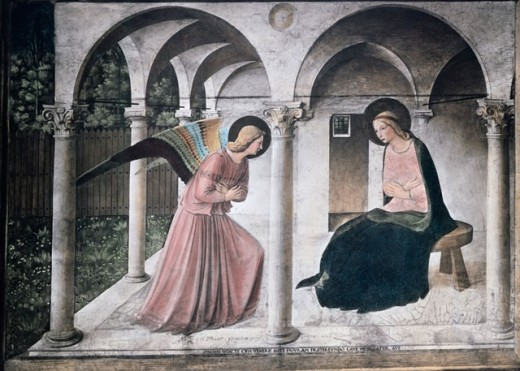 Stock Photo: 463-5414 The Annunciation