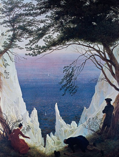 Stock Photo: 463-5530 White Cliffs at Ruegen 