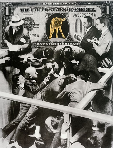Stock Photo: 463-5996 How To Make Dollars John Heartfield (1891-1968 German) Photo Collage