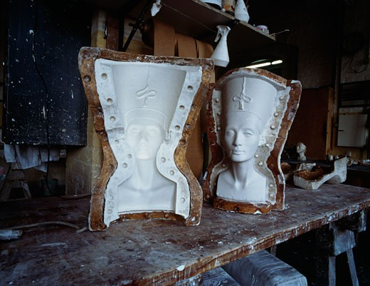 Stock Photo: 463-6000 Nefertiti