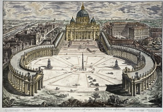 St. Peter's Basilica & Square, Vatican City