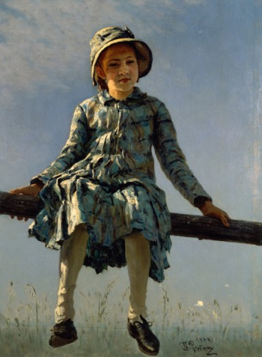 Stock Photo: 463-6360 Butterfly (Vera Repin, Oldest Daughter of the Artist)