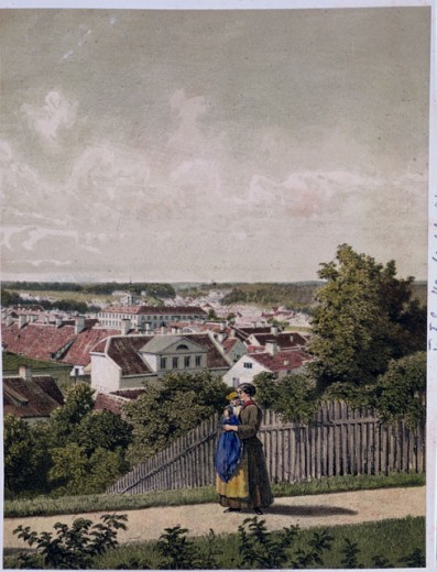 Stock Photo: 463-6584 View of Dorpat / Estonia
