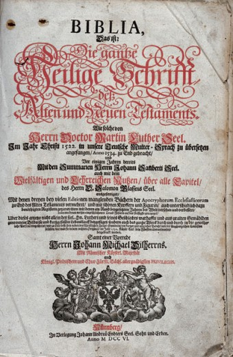 Stock Photo: 463-6728 Biblia Cover Sheet of the Edition: The Entire Holy Scriptures