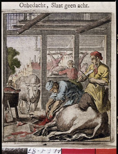 Stock Photo: 463-6847 The Butcher