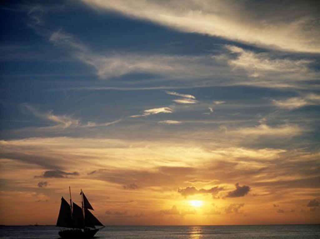 Stock Photo: 464-113 Key West Florida USA
