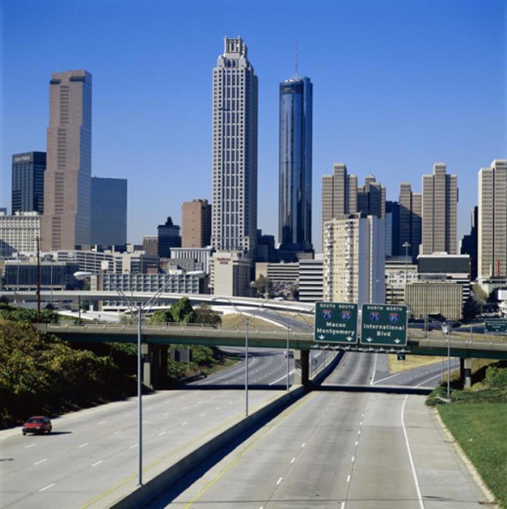 Stock Photo: 464-185 Atlanta Georgia USA