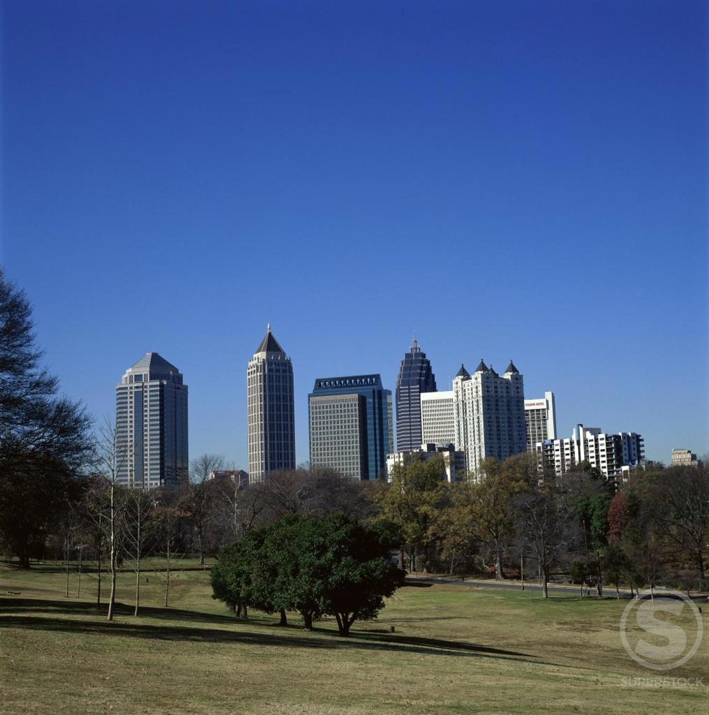 Stock Photo: 464-206 Atlanta Georgia USA