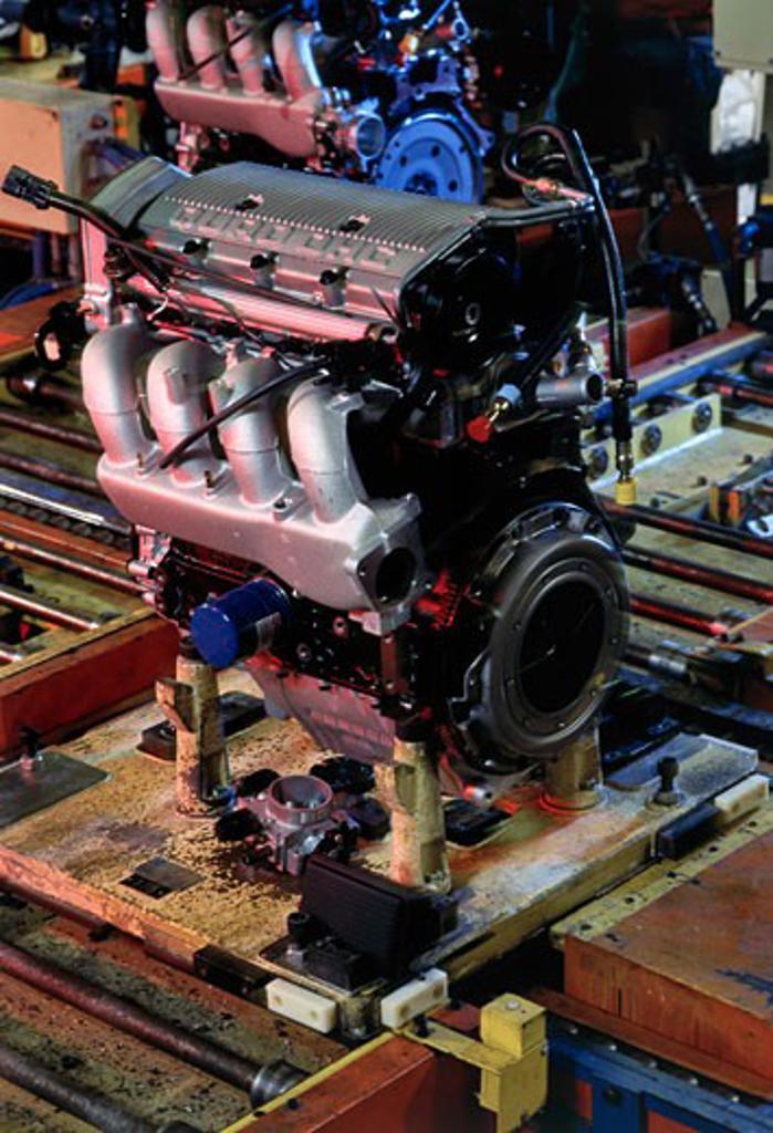 Delta Engine Assembly Plant Lansing Michigan USA : Stock Photo