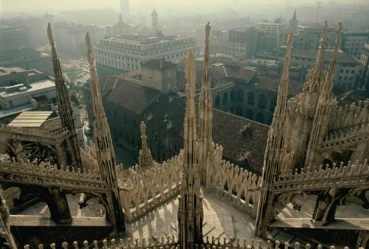 Stock Photo: 473-196 Milano Italy