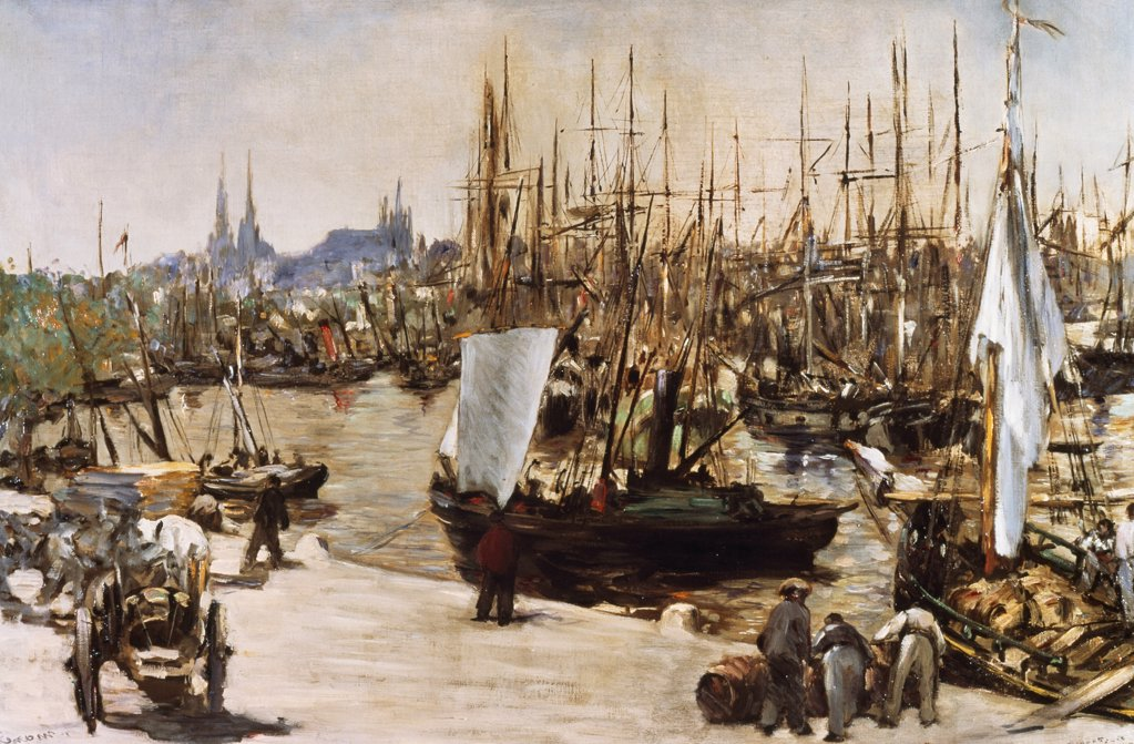 Stock Photo: 475-108 The Port of  Bordeaux