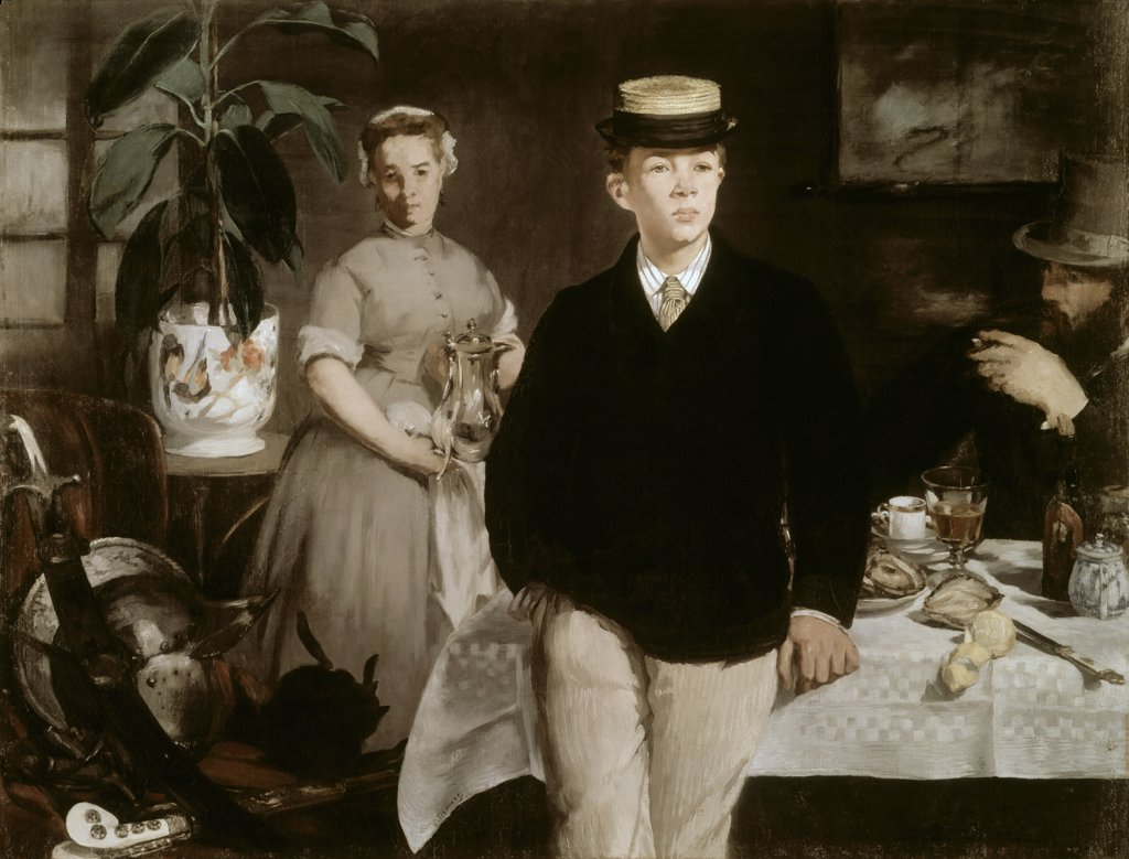 Luncheon in the Studio