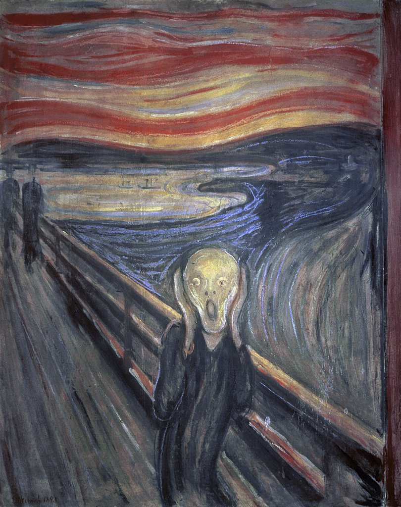 Stock Photo: 475-1375 The Scream