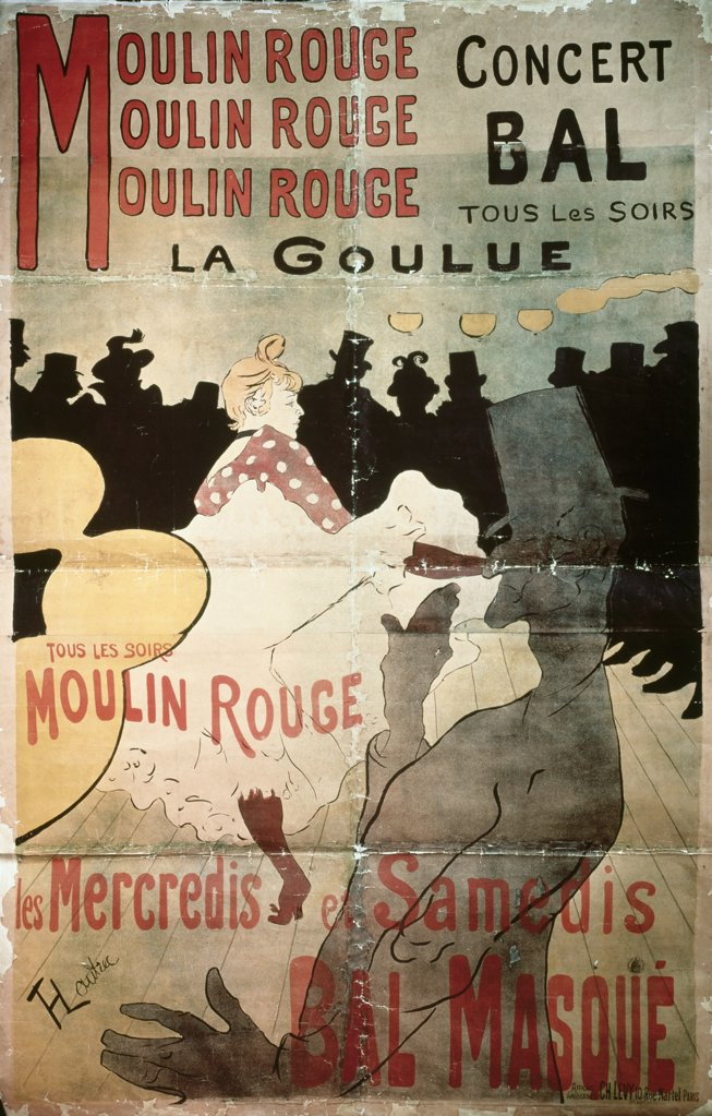 Stock Photo: 475-1403 The Moulin Rouge
