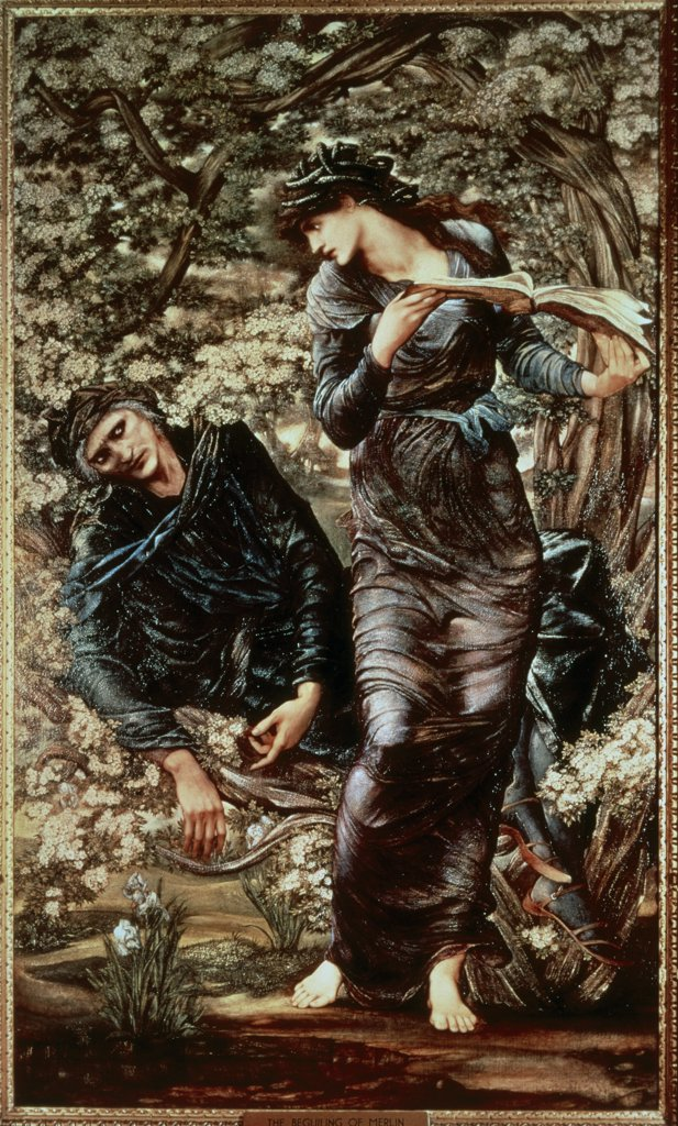 Stock Photo: 475-1442 The Beguiling of Merlin: Merlin & Vivien