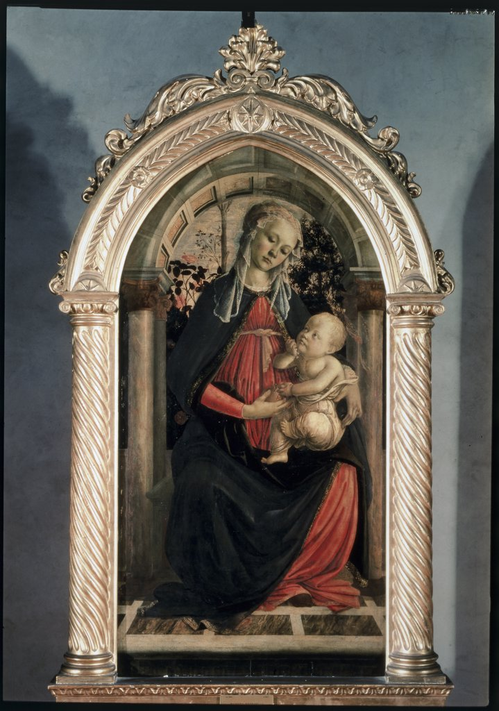 Stock Photo: 475-1899 The Madonna of the Roses