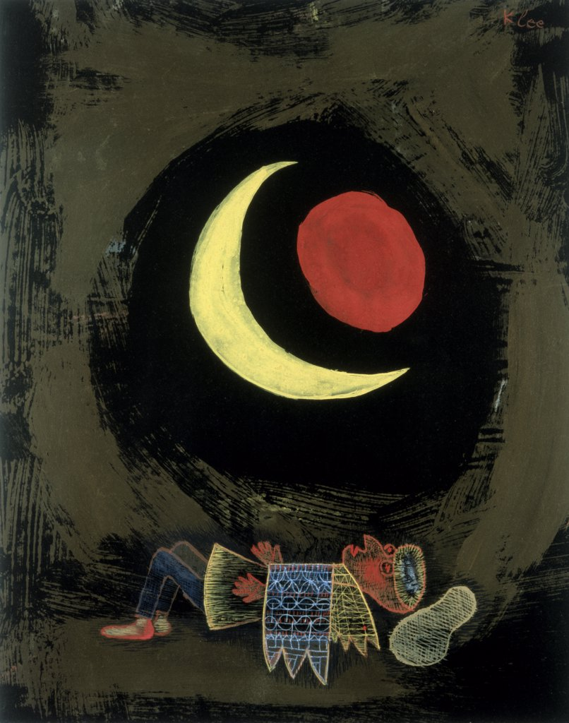 Stock Photo: 475-1901 Sun and Moon (Subtitled Starker Traum)