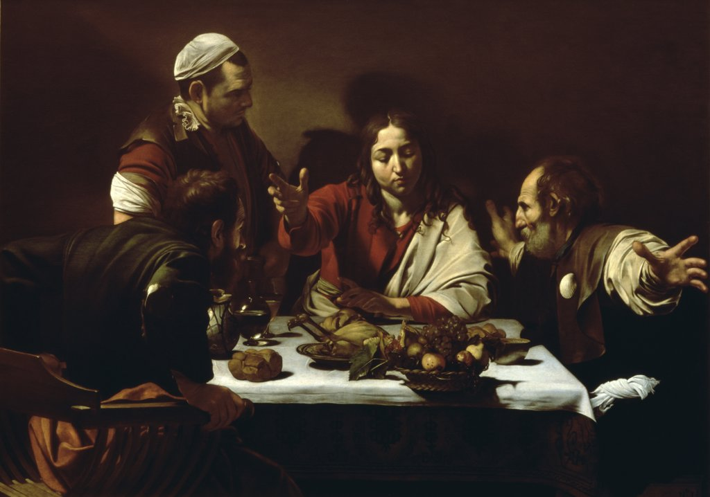 Stock Photo: 475-1934 Supper at Emmaus