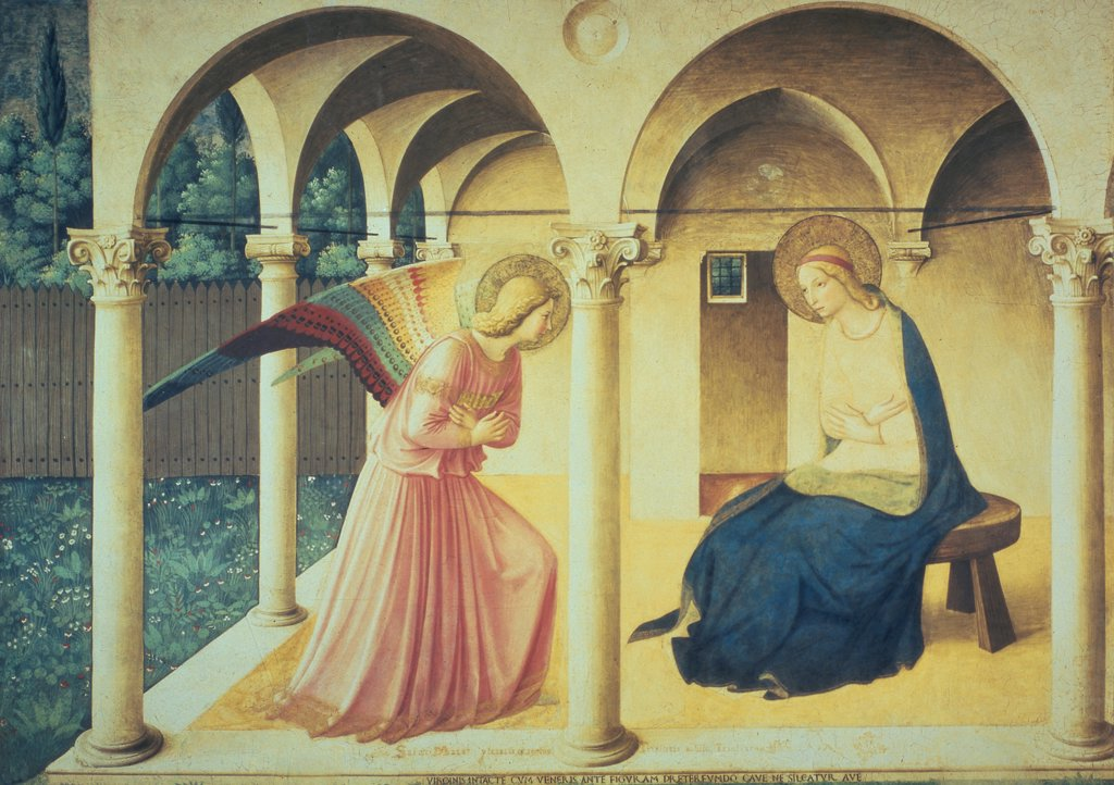 Stock Photo: 475-1960 The Annunciation