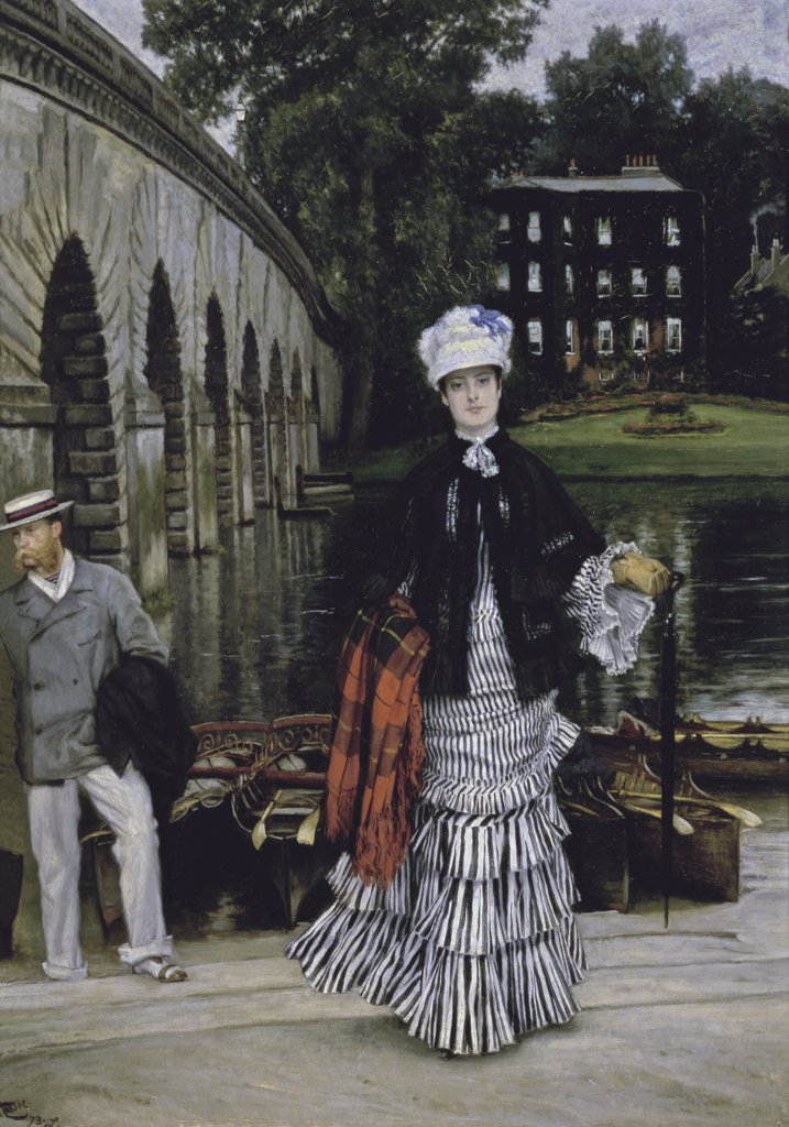 Stock Photo: 475-1977 The Return from the Boating Trip