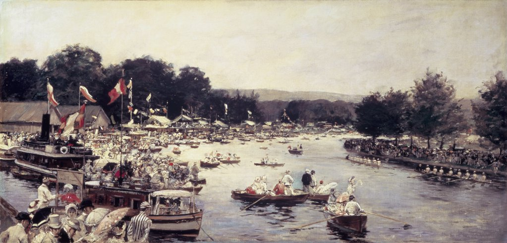 Stock Photo: 475-1991 Henley Regatta 