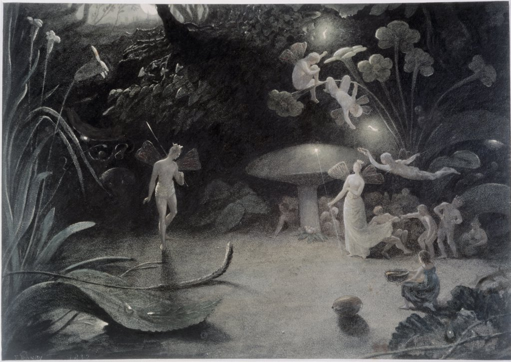 "Scene from:""A Midsummer Night's Dream""