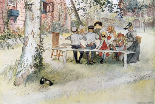 Lunch by the Garden