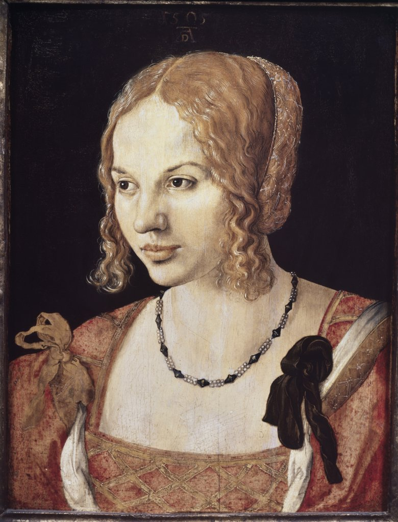 Stock Photo: 475-243 Portrait Of A Venetian Lady 