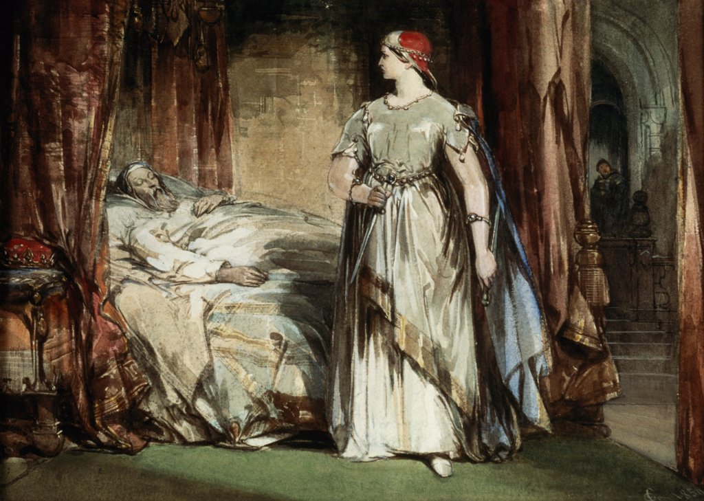 Stock Photo: 475-2480 Lady Macbeth 