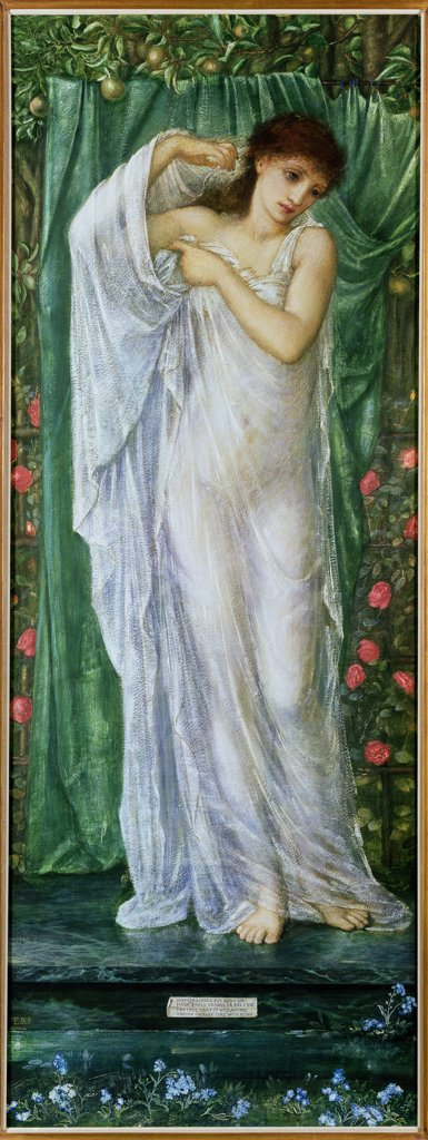 Stock Photo: 475-2522 Summer 1869-70 Edward Burne-Jones (1833-1898 British) Gouache On Paper Roy Miles Gallery, 29 Bruton St., London W1 *ADDRESS MUST BE INCLUDED IN CREDIT!