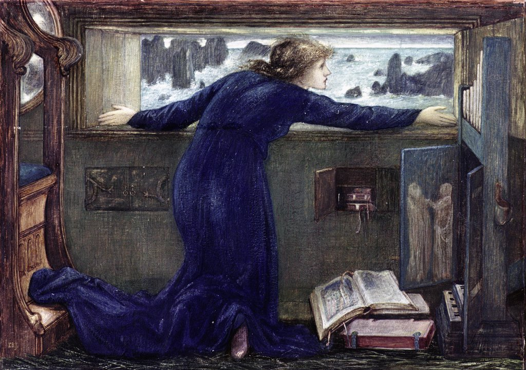 Stock Photo: 475-2531 Dorigen Of Bretaigne Longing For The Safe Return Of Her Husband