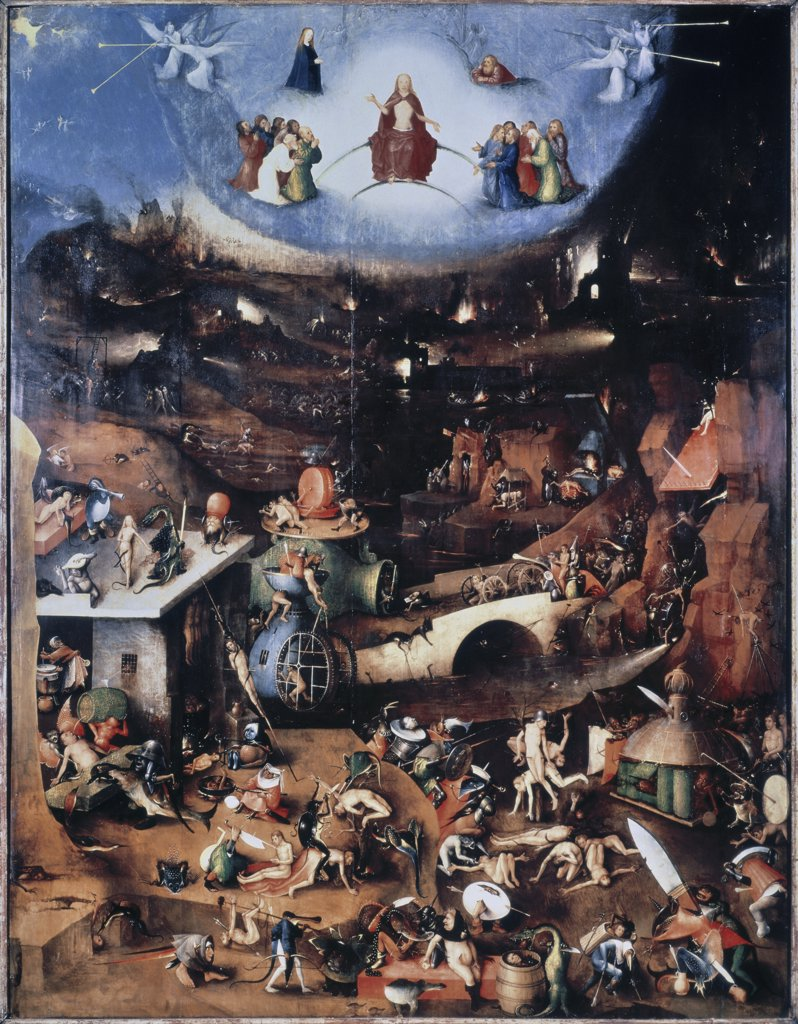 Stock Photo: 475-271 Last Judgement, The - Center Panel 1500-08