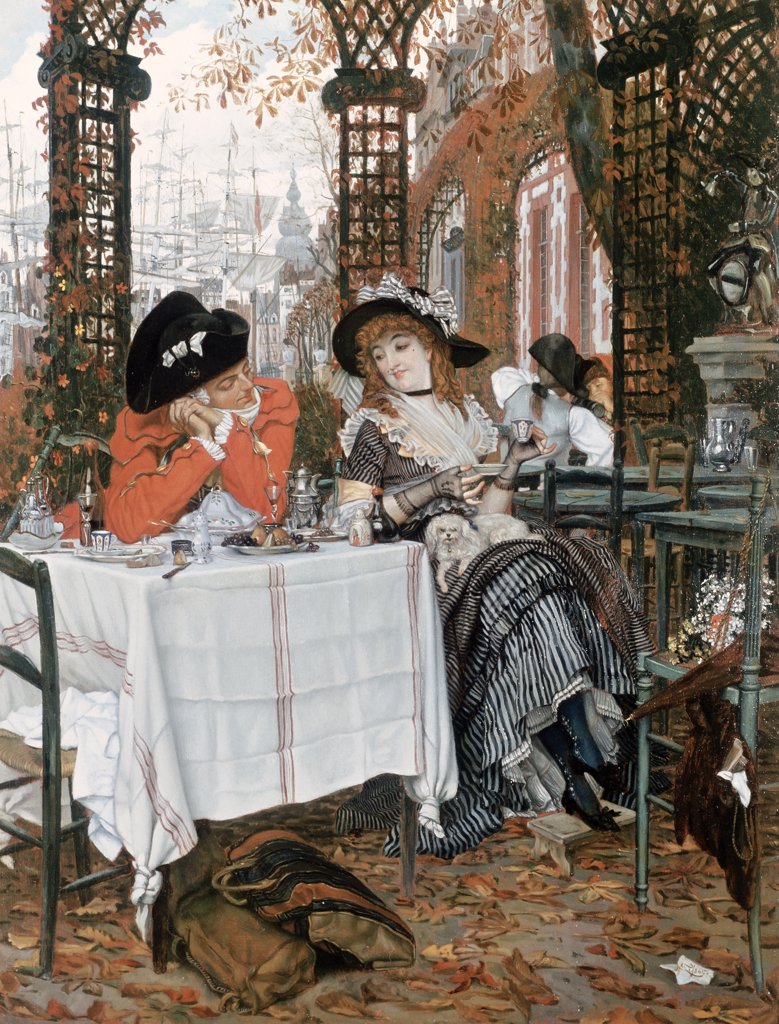 Stock Photo: 475-383 Un Dejeuner 