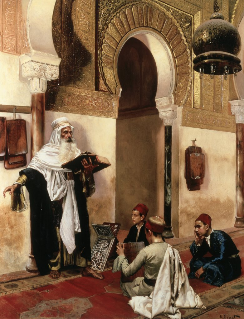 Stock Photo: 475-414 The Lesson