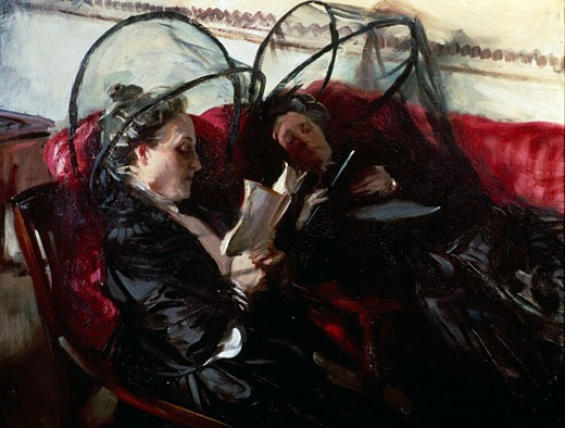 Mosquito Nets John Singer Sargent (1856-1925 American) Private Collection : Stock Photo