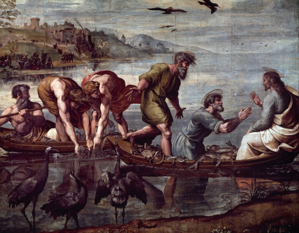 Stock Photo: 475-588 Miraculous Draught of Fishes